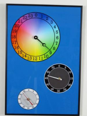 24 Hour Color Clock