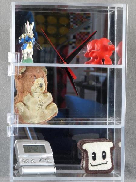 Clock in a Cabinet