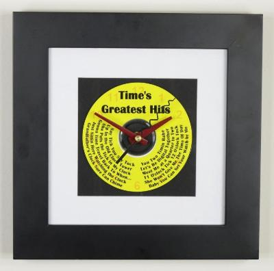 Time's Greatest Hits Wall Clock
