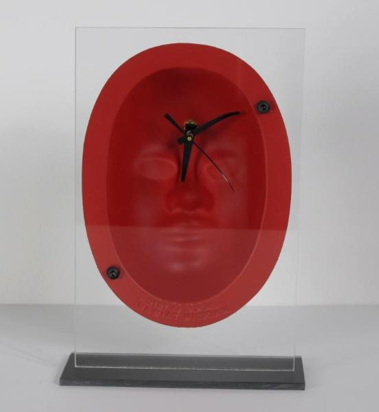 Inside Out Mask on Plexiglas