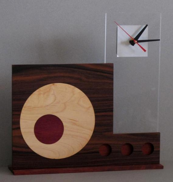 Circles With Transparent Clock Tower