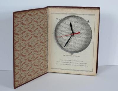 Clock in Book Redo