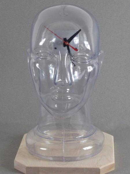 Clear Head Clock