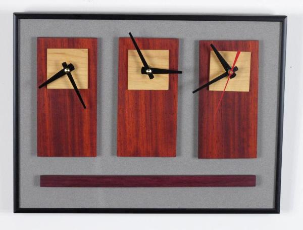 3 Options Wall Clock