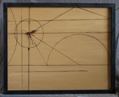 Parchment Clock