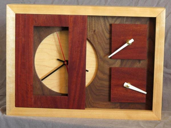 First Wood Clock